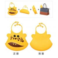 Wholesale Colorful Waterproof Baby Bibs/silicon Bibs With Pocket from china suppliers