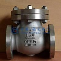Wholesale Flanged Check Valve SS Swing Type ANSI 150LB from china suppliers