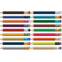 Buy cheap Personalized Pencils Design Your Own Hex Golf - Text Only from wholesalers