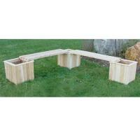 "Wholesale Three 16"" Cedar Planters & Two Benches from china suppliers"