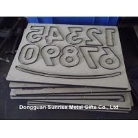 Buy cheap Manual paper craft cutting die on MDF base sheet from wholesalers