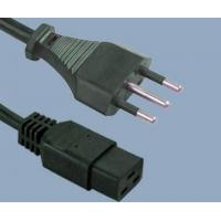 Buy cheap Power Cord Italy TO C19 IEC C19 Italy IMQ power cord ItemItaly TO C19 from wholesalers
