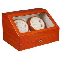 Buy cheap TOP QUALITY AUTOMATIC QUAD WATCH WINDER 4+6 STORAGE BOX CASE-WW4+6OAK from wholesalers