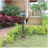 Buy cheap 4 foot outdoor solar powered lamp post with LED Lights SL-6801bronze1.3m from wholesalers