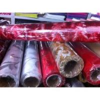 Wholesale Flower decorative wrapper glittered organza rolls from china suppliers