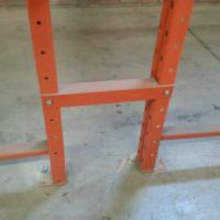 Buy cheap Pallet Rack Accessories Row Spacers from wholesalers