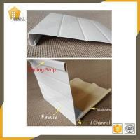 Buy cheap 1.0mm thickness Pvc Fascia board for pvc wall siding panel decoration Plastic Profiles from wholesalers