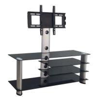 Buy cheap Glass TV Stands Tempered glass flat screen corner tv stands design DG007 DG007 from wholesalers