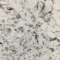 Buy cheap Sesame White Engineered Quartz Kitchen Top Cost in China Manufacturing Factory from wholesalers