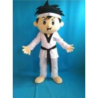 Buy cheap black belt judo boy mascot costume custom boy mascot for sale from wholesalers