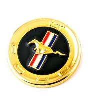 Buy cheap RhinoTuning 60mm Ford Mustang GT Round Car Emblem Exterior Accessories from wholesalers