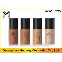 Buy cheap Flawless Liquid Mineral Foundation , Concealer Mineral Makeup Liquid Foundation from wholesalers