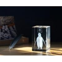 Wholesale CRYSTAL CUBE Penguin Theme 3D Las Item No.: SHC-005 from china suppliers