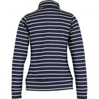 Buy cheap Blue & White Stripe Long Sleeve Polo Shirt from wholesalers