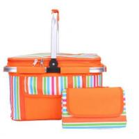 Buy cheap 2018 Hotsale Polyester Foldable Cooler Basket for Picnic from wholesalers