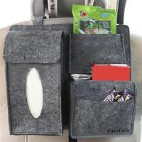 Buy cheap Hot products customized eco-friendly felt car back seat organizer for car protector from wholesalers