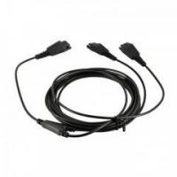 Buy cheap Headset Adapter Link19 Y cable Supervisory Training cord from wholesalers