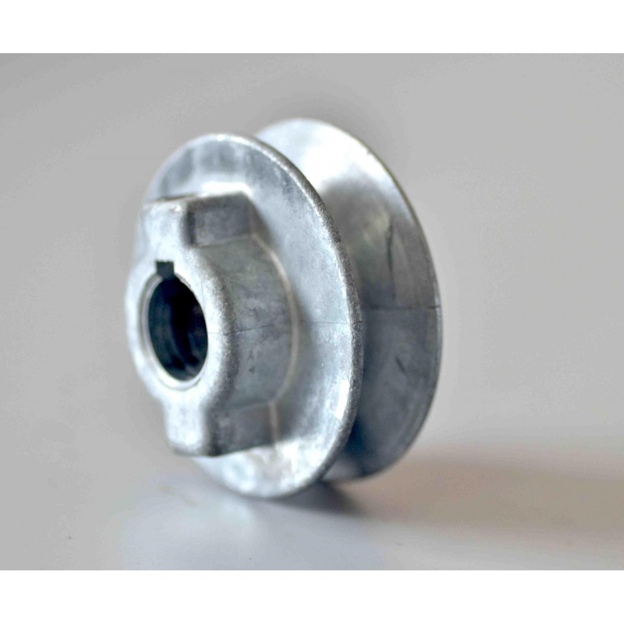 Buy cheap zinc die casting pulley from wholesalers