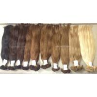 Buy cheap Vietnamese hair Vietnamese super high quality straight hand tied weft from wholesalers