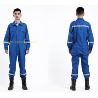 FR Clothing Nomex Fireproof Boiler Suit / Boiler Coverall