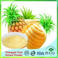 Buy cheap Pineapple Juice Powder/Ananas Extract Powder from wholesalers