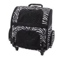 Buy cheap Zebra Style Printed Travel Trolley Pets Backpack Carrier Bag Sh-17070211 from wholesalers