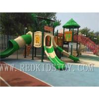 Buy cheap Exported to South Africa Anti-rust Outdoor Playground Plaza De Juegos HZ-D7005A from wholesalers