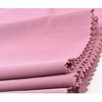 Buy cheap Knit plain dyed crystal ITY jersey T-shirt polyester stretch fabric from wholesalers
