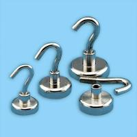 Buy cheap Sintered NdFeB Strong Magnet Hook With 304 from wholesalers