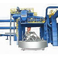 High Quality Standard Turntable Trolley Shot Blasting Cleaning Machine