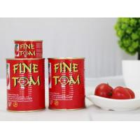 Wholesale Canned Tomato Paste canned tomato paste Tomato paste FINE TOM brand from china suppliers