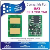 Buy cheap OKI C911/931/941 toner chip from wholesalers