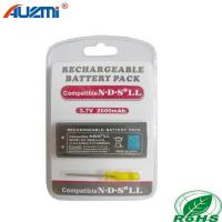 Buy cheap Game accessories for Nintendo Rechargeable Battery Pack 2000mAh for DSi XL/LL from wholesalers