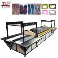 China Pvc Machine Plastic Shoe Sole Production line with Heating on sale