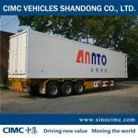 Buy cheap 3-Axle refrigerated vans for sale from wholesalers
