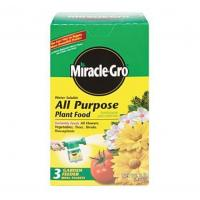 Plant Food Miracle Gro All Purpose Plant Food Manufactures