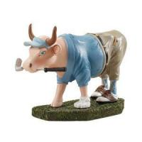 Wholesale Decorative Accessories Golfer Cow from china suppliers
