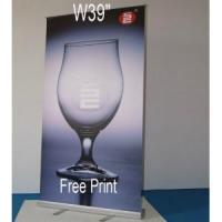 Buy cheap W39 Budget Retractable Banner Stand with Banner & Travel Bag from wholesalers