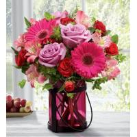 Buy cheap Sympathy Flowers The FTD Pink Exuberance Bouquet by Better Homes and Gardens from wholesalers
