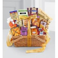 Buy cheap Sympathy Flowers Gourmet Riches Kosher Gift Basket from wholesalers