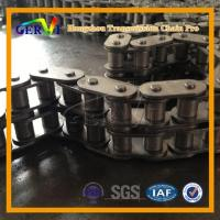 BS DIN C08B C10b C12b Short Pitch Roller Chains With Straight Side Plates Copper-plated Dacrotised H Manufactures