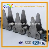 Buy cheap BS/DIN ANSI Standard 80F Sharp Top Chain Conveying Purposes In The Timber And Pulp Industries 100F-2 from wholesalers