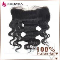 China 13 X 4 Cheap Free Parting Brazilian Virgin Hair Full Lace Frontal Closure on sale