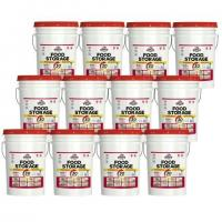 Food Supply Kits One Year Emergency Food Storage All-in-One Pail Kit Manufactures