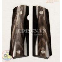 Wholesale Colt 1911A1 From Genuine Water Buffalo Black Horn (Have Vein) from china suppliers