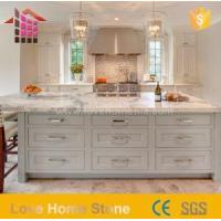 Buy cheap New Fashionable Stylish White Kitchen with Marble Granite Countertops from wholesalers