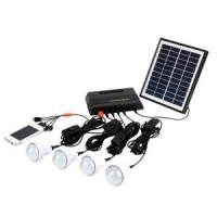 Buy cheap 4W Home Pico Solar Energy Systems Phone Charging LED Bulbs Lighting from wholesalers