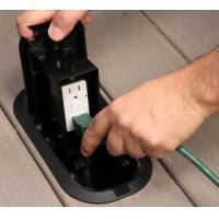 Buy cheap Deck Grommet Pro Floor Box Keeps Exterior Outlets Out of the Way from wholesalers