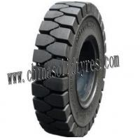 New Rubber Pneumatic Shaped Solid Forklift Tires Manufactures
