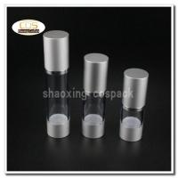 Wholesale 50pcs/lot ZA22 15ml 30ml 50ml aluminium clear airless pump bottles wholesale from china suppliers